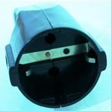 Black inndustrial socket with grounding, Socket, socket Industrial 220 volts, PVC socket