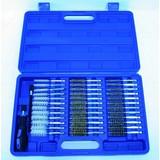 Brush Set, 38-piece, brass / steel / nylon