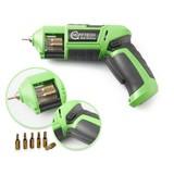 Multi-Bit Cordless Screwdriver, cordless screwdriver, Li-Ion 3.6 volt, battery screwdrivers, battery-screw