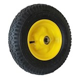 Quadricycle drive wheel with yellow steel rim, Quadricycle, Go-kart wheel, Quadricycle tires, Quadricycle wheels