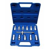 Carter plug wrench set, 12 pieces, Carter plug set, plug and screw