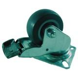 Castor with brake 50 mm. Swivel castor with brake, brake Caster, Caster