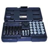 Glow plug thread repair kit, glow plug repair kit, glow plug repair set