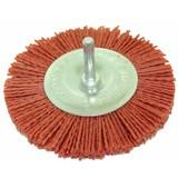 Nylon brush wheel100mm drill, Brush wheel 10mm, nylon brush