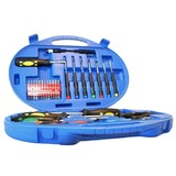46-piece screwdriver and bits set