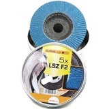 Flapwheels 125 mm, K-80, 5 pieces, Flap disc, Flapwheel, sanding disc, disc Blade