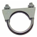 Exhaust clamp diameter 45 M8 thread, exhaust clamp, exhaust clamps