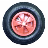 Quadricycle Band - Drive wheel 4 side hole, 25 x 25 mm, Wheel 4.80 / 4.00-8, Wheel skelter