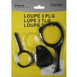Loupe 3 pieces, loupe, magnifying Read, Read loupe