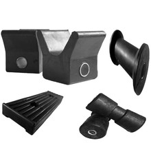 black boat keel rolls and rolls
