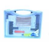 Bandenreparatieset voor tubeless banden, banden reparatie setje, proppenset (27 delig)(AUTM-00020)
