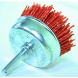 Nylon borstelkom 75 mm drill, Brush bowl 75 mm, Nylon Brush