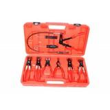 Flexible hose clamp pliers set 7 piece, set Pliers hose clamps, hose clamp pliers set