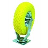 Solid PU Caster Wheel, Swivel castor, PU Caster