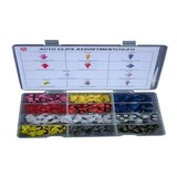 120-piece assortment autoclips