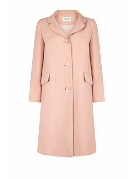 Marcha Huskes Celine Coat Premium Wool Pink