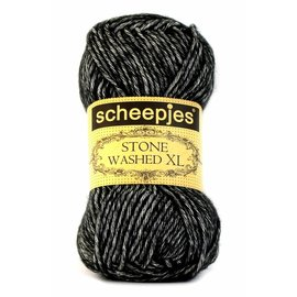 Scheepjes Stone Washed XL 843 Black Onyx