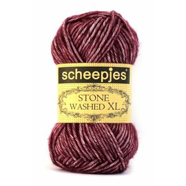 Scheepjes Stone Washed XL 850 Garnet