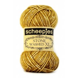 Scheepjes Stone Washed XL 849 Yellow Jasper