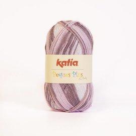 Katia Peques Plus 52 Purper/Roos/Bruin
