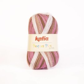 Katia Peques Plus 50 Roos/Bruin/Wit