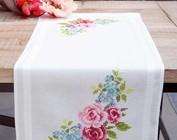 Tafelkleedjes en lopers borduren