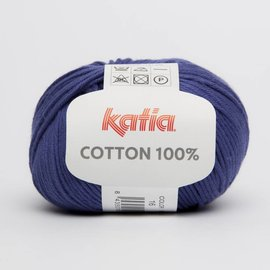 Katia Cotton 100% 16 Purper