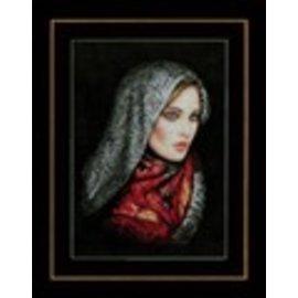Lanarte Kruisjessteekpakket met telpatroon van Lanarte, Culture, Gesluierde vrouw