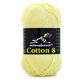 Scheepjes Cotton 8 508 Zachtgeel