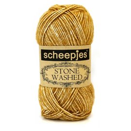 Scheepjes Stone Washed 809 Yellow Jasper