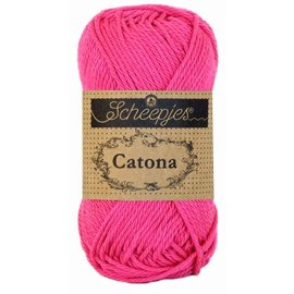 Scheepjes Catona 25 gr 114 Shocking Pink