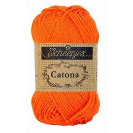 Scheepjes Catona 25 gr 189 Royal Orange