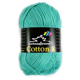 Scheepjes Cotton 8 665 lichtgroen