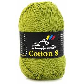 Scheepjes Cotton 8 669 Olijfgroen