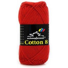 Scheepjes Cotton 8 510 Rood