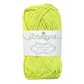 Scheepjes Linen Soft 631 Lime groen