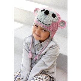 Katia Haakpakket : Apenmuts voor kinderen van 4 - 8 jaar