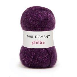 Phildar Phil Diamant 09 Violine