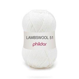 Phildar Lambswool 51 10 Blanc