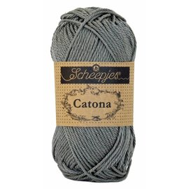 Scheepjes Catona 50 - 242 - Metal Grey
