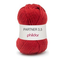 Phildar Partner 3,5 Wol 0102 Pavot