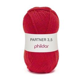 Phildar Partner 3,5 Wol 0084 Rouge