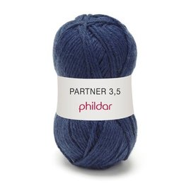 Phildar Partner 3,5 Wol 0015 Naval