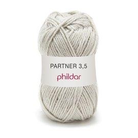 Phildar Partner 3,5 Wol 0012 Brume