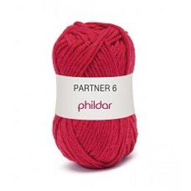 Phildar Partner 6 wol 0084 Rouge