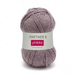 Phildar Partner 6 wol 0200 Bruyere