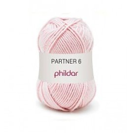 Phildar Partner 6 wol 0204 Rose