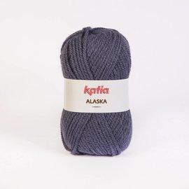 Katia Alaska 26 100% Acrylwol Grijsblauw