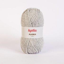 Katia Alaska 9 100% Acrylwol Lichtgrijs