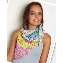 Katia Gratis patroon gehaakte sjaal in Katia Amigurumi